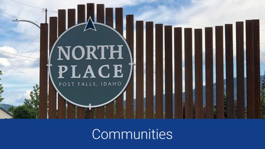 communities north idaho post falls homes